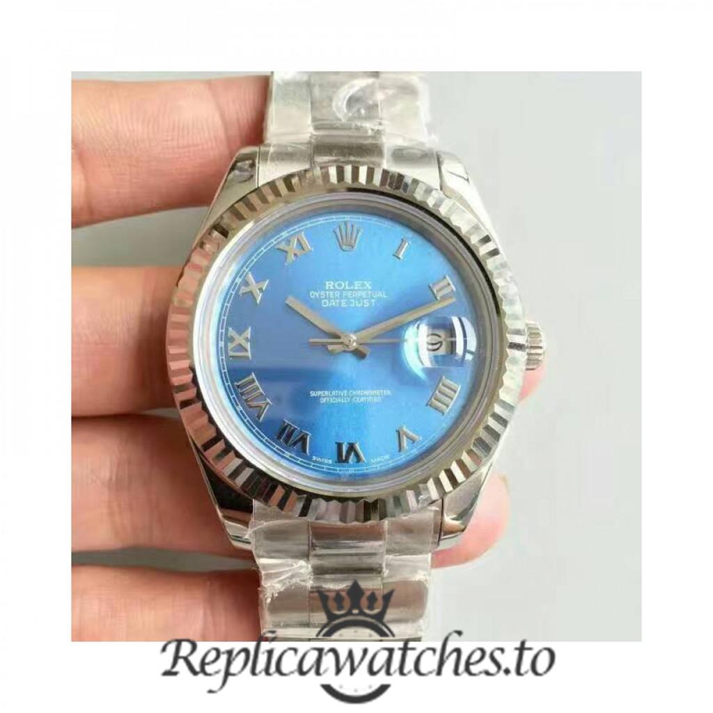 Swiss Rolex Datejust Replica 116334 002 Stainless Steel 410L Bracelet Automatic 41mm