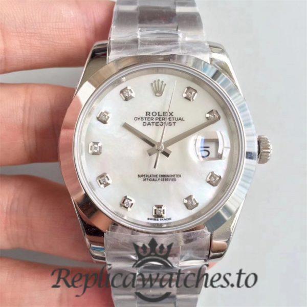 Swiss Rolex Datejust Replica 126300 006 Stainless Steel 410L Bracelet Automatic 41MM