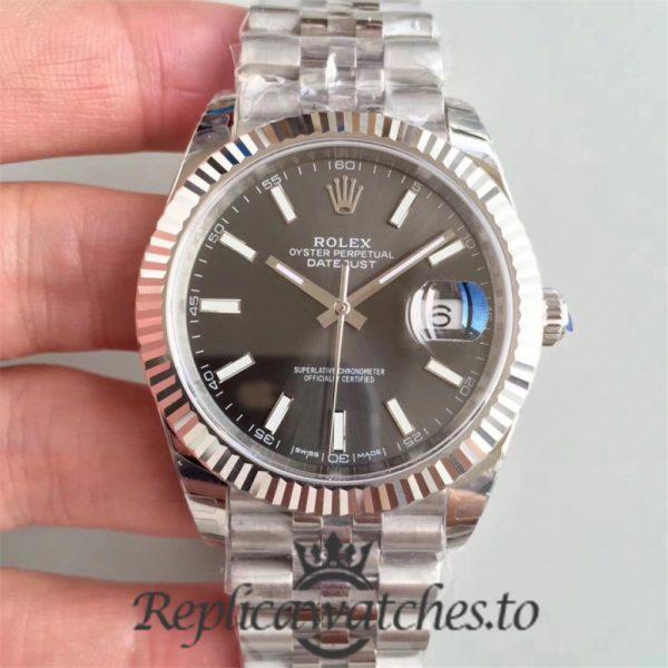 Swiss Rolex Datejust Replica 126334 001 Stainless Steel 410L Automatic 41MM