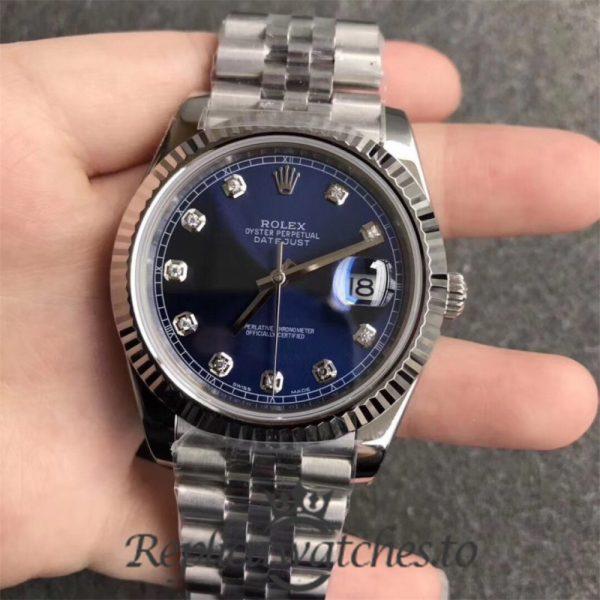 Swiss Rolex Datejust Replica 126334 015 Stainless Steel 410L Bracelet Automatic 41MM