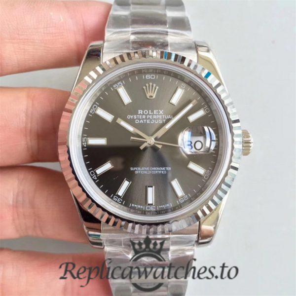 Swiss Rolex Datejust Replica 126334 019 Stainless Steel 410L Bracelet Automatic 41MM