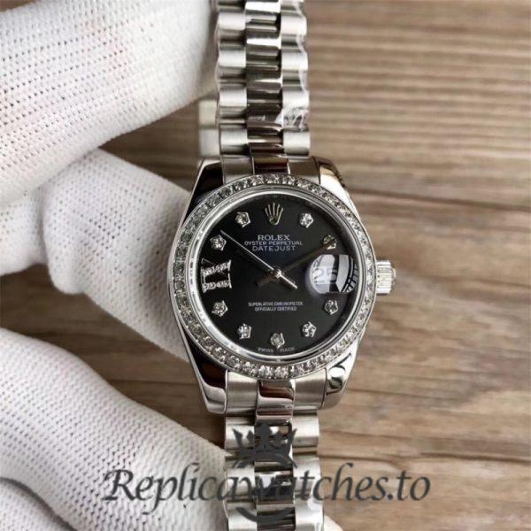 Swiss Rolex Datejust Replica 279136RBR Stainless Steel 410L Bracelet Automatic 28 mm
