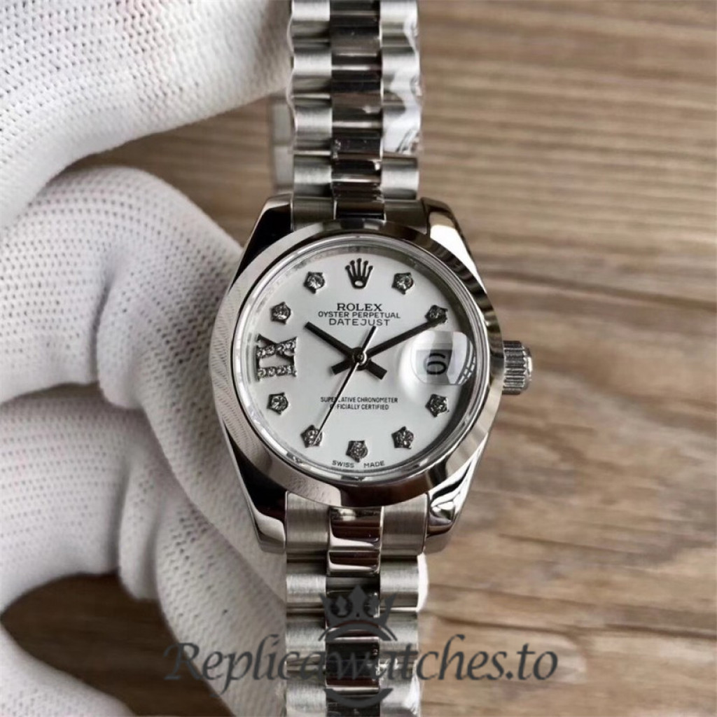 Swiss Rolex Datejust Replica 279166 004 Stainless Steel 410L Bracelet Automatic 28MM