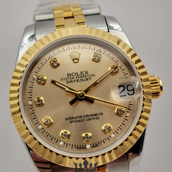 Swiss Rolex Lady Datejust Replica 178273 Stainless Steel 410L And 18K Yellow Gold Strap Automatic 31MM