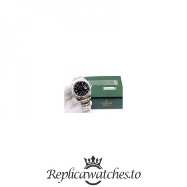 Swiss Rolex Datejust Replica 116334 008 Stainless Steel 410L Bracelet Automatic 41MM