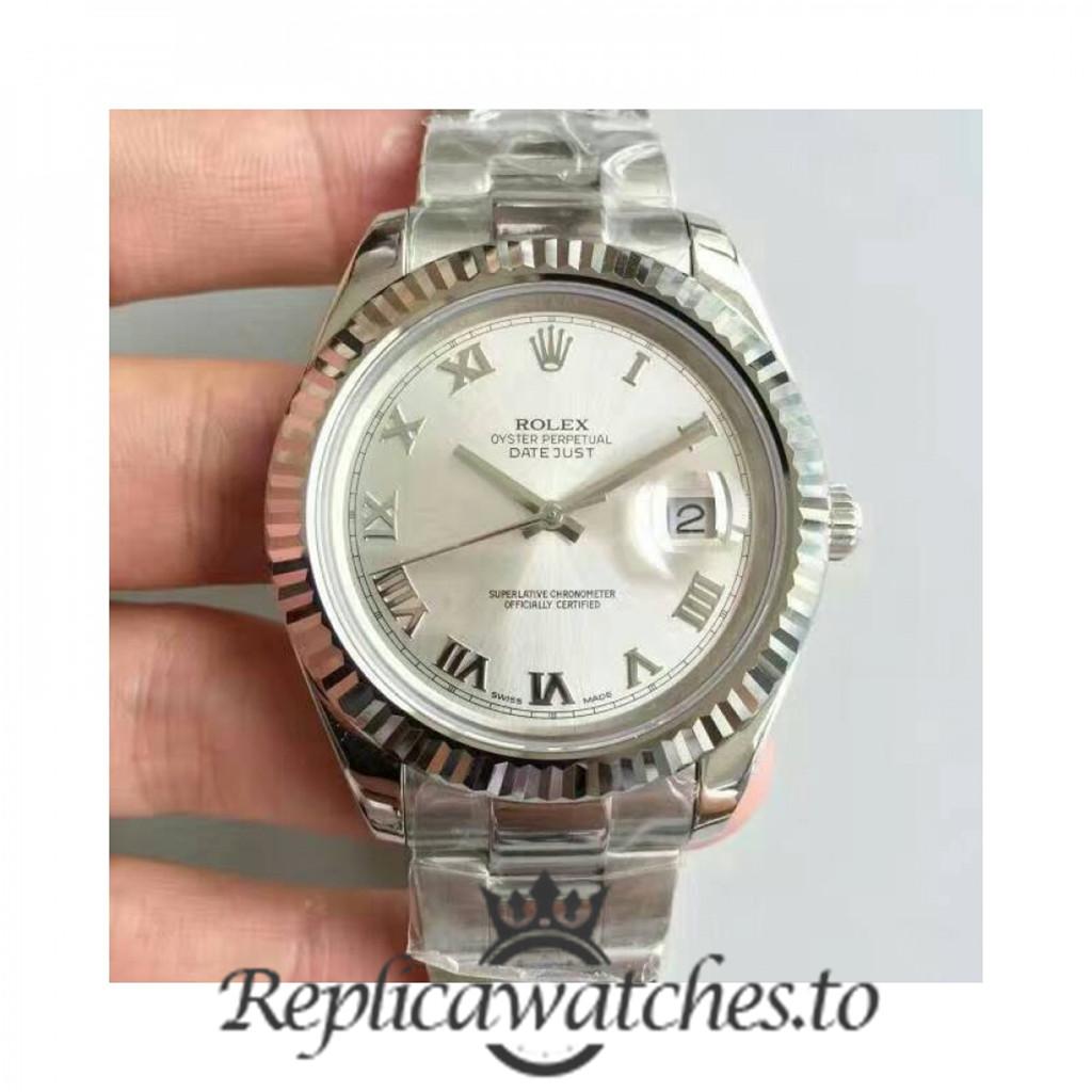 Swiss Rolex Datejust Replica 116334 011 Stainless Steel 410L Bracelet Automatic 41MM