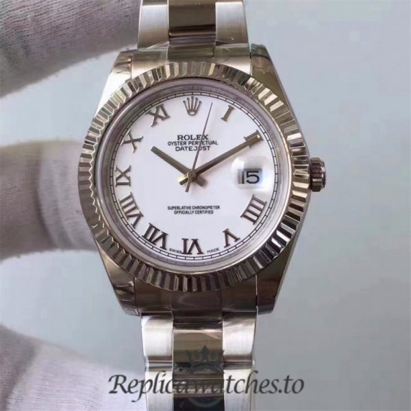 Swiss Rolex Datejust Replica 116334 021 Stainless Steel 410L Bracelet Automatic 41MM