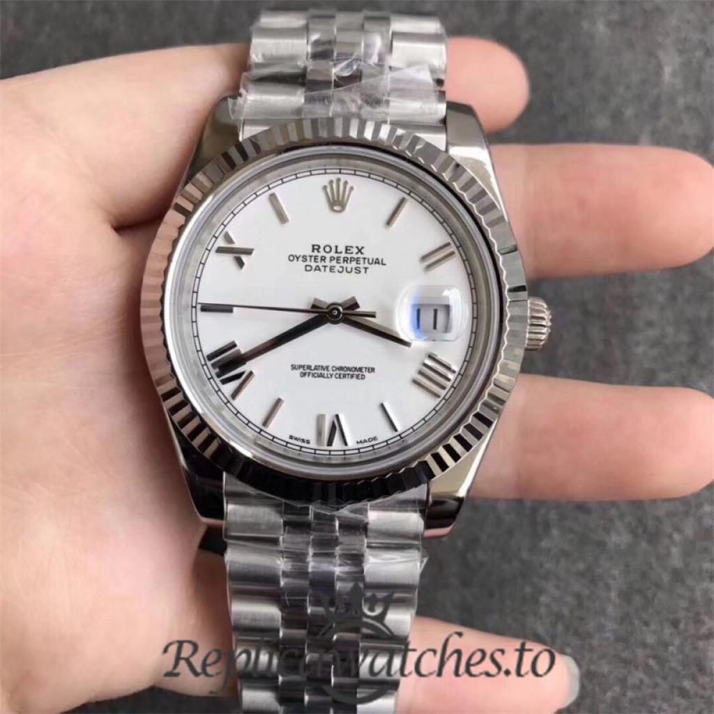 Swiss Rolex Datejust Replica 126334 023 Stainless Steel 410L Bracelet Automatic 41MM