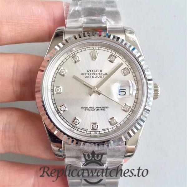 Swiss Rolex Datejust Replica 126334 026 Stainless Steel 410L Bracelet Automatic 41MM