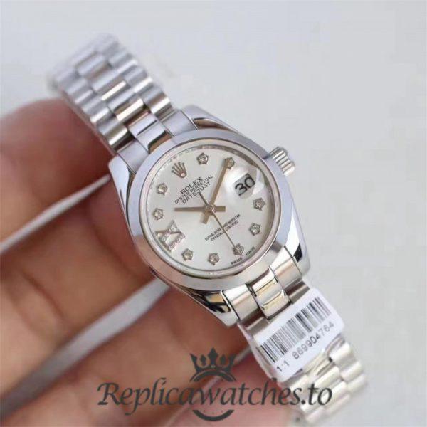 Swiss Rolex Datejust Replica 279166 005 Stainless Steel 410L Bracelet Automatic 28MM
