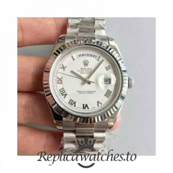 Swiss Rolex Day-Date Replica 218239 006 Stainless Steel 410L Automatic 41MM