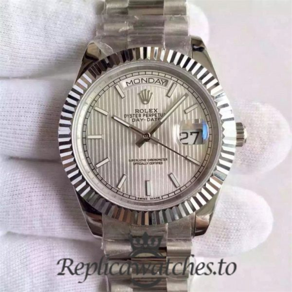 Swiss Rolex Day-Date Replica 228239 003 Stainless Steel 410L Automatic 40MM