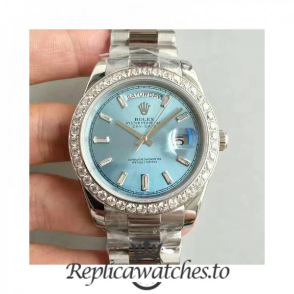 Swiss Rolex Day-Date Replica 228396TBR 002 Stainless Steel 410L Automatic 40MM