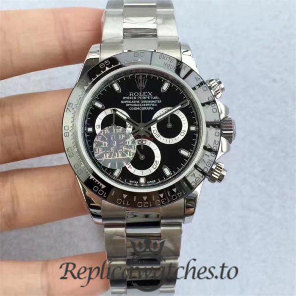 Swiss Rolex Daytona Replica 116500LN 003 Stainless Steel 410L Automatic 40 mm