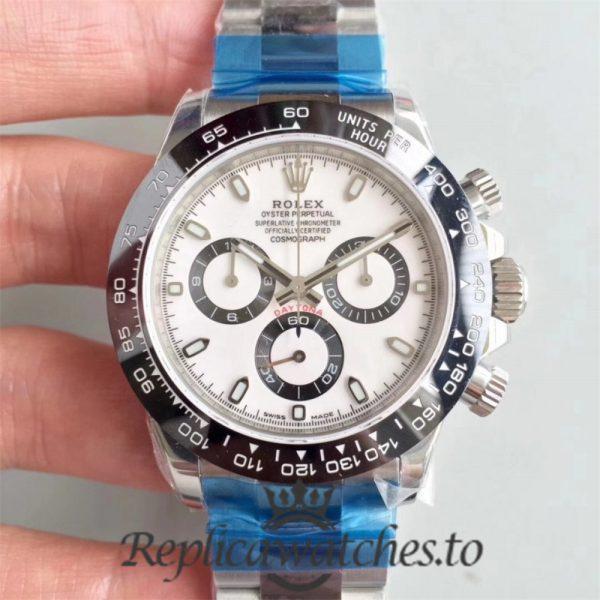 Swiss Rolex Daytona Replica 116500LN 007 Stainless Steel 410L Automatic 40 mm x 12.5 mm
