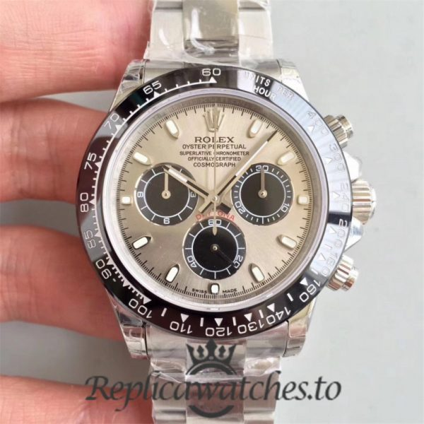 Swiss Rolex Daytona Replica 116500LN 010 Stainless Steel 410L Automatic 40 mm