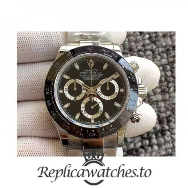 Swiss Rolex Daytona Replica 116500LN 012 Stainless Steel 410L Automatic 40 mm