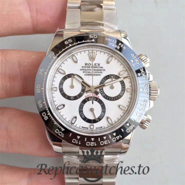 Swiss Rolex Daytona Replica 116500LN Stainless Steel 904L Automatic 40 mm x 13 mm