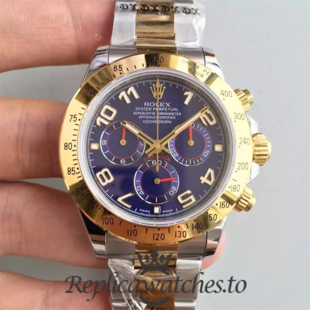 Swiss Rolex Daytona Replica 116503 003 18K Yellow Gold and Stainless Steel 410L Automatic 40 mm