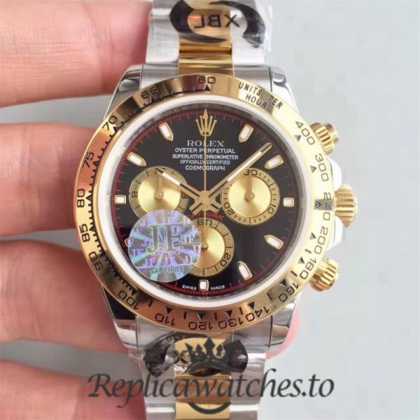 Swiss Rolex Daytona Replica 116503 010 Stainless Steel 410L and 18K Yellow Gold Automatic 40 mm