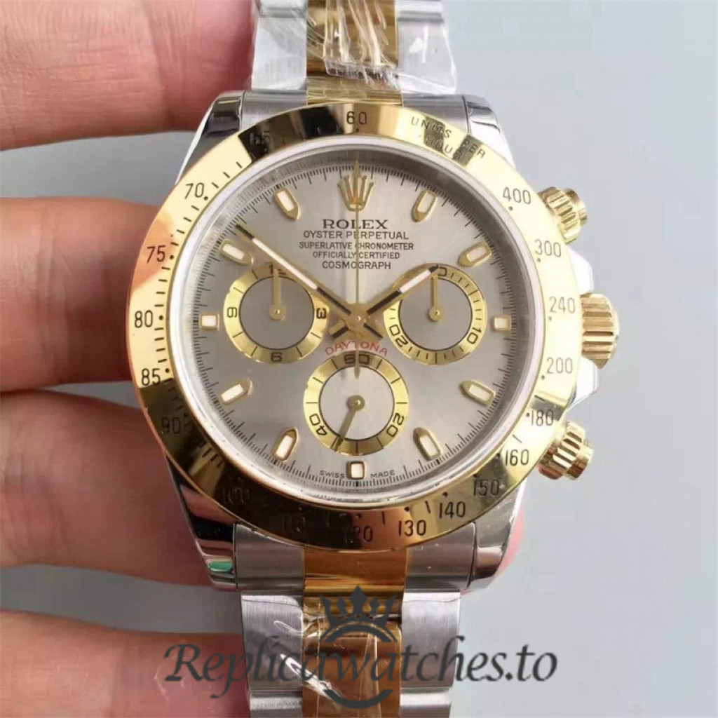 Swiss Rolex Daytona Replica 116503 011 Stainless Steel 410L and 18K Yellow Gold Automatic 40 mm