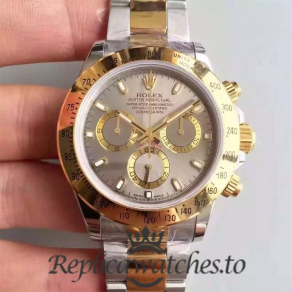 Swiss Rolex Daytona Replica 116503 016 18K Yellow Gold and Stainless Steel 410L Automatic 40 mm