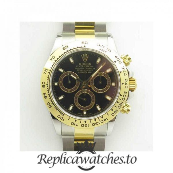 Swiss Rolex Daytona Replica 116503 017 18K Yellow Gold and Stainless Steel 410L Automatic 40 mm