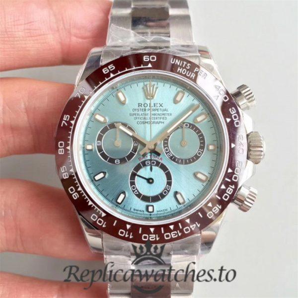 Swiss Rolex Daytona Replica 116506 001 Stainless Steel 410L Automatic 40 mm x 12.5 mm