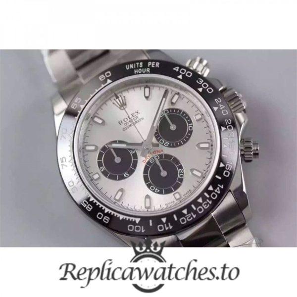 Swiss Rolex Daytona Replica 116506LN Stainless Steel 410L Automatic 40 mm