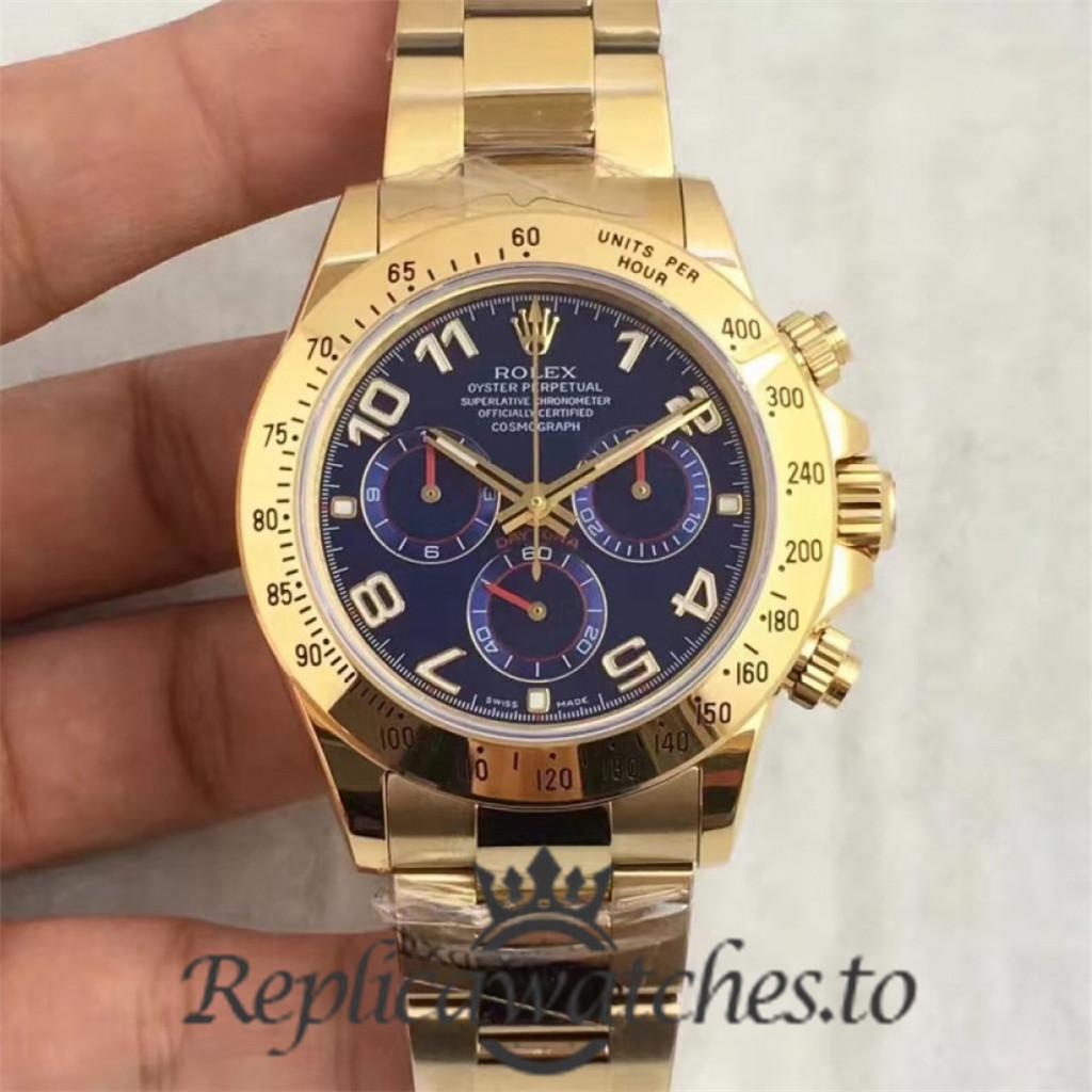 Swiss Rolex Daytona Replica 116508 18K Yellow Gold Automatic 40MM