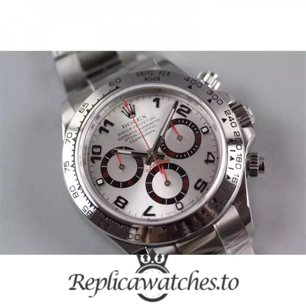 Swiss Rolex Daytona Replica 116509 002 Stainless Steel 410L Automatic 40 mm
