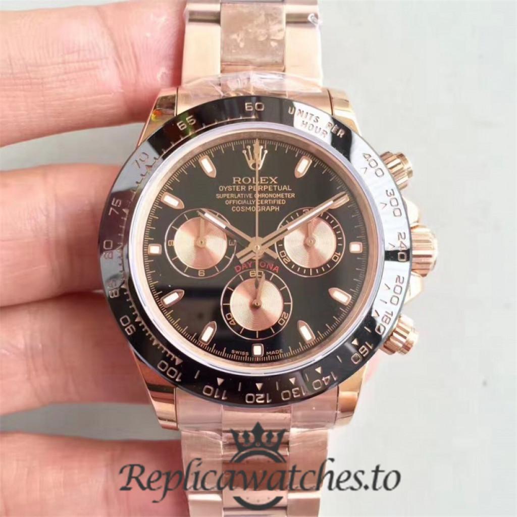 Swiss Rolex Daytona Replica 116515LN 007 Stainless Steel 410L Automatic 40 mm