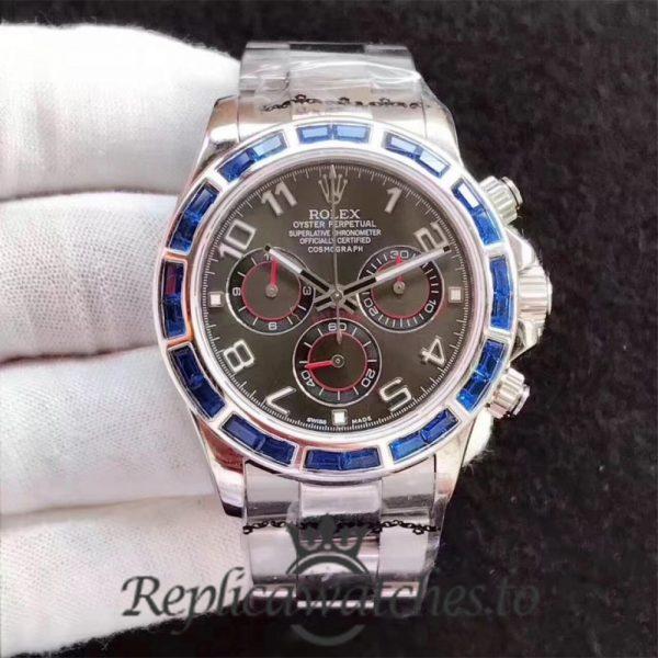Swiss Rolex Daytona Replica 116599 003 Stainless Steel 410L Automatic 40 mm