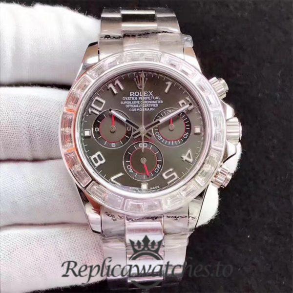Swiss Rolex Daytona Replica 116599 004 Stainless Steel 410L Automatic 40 mm