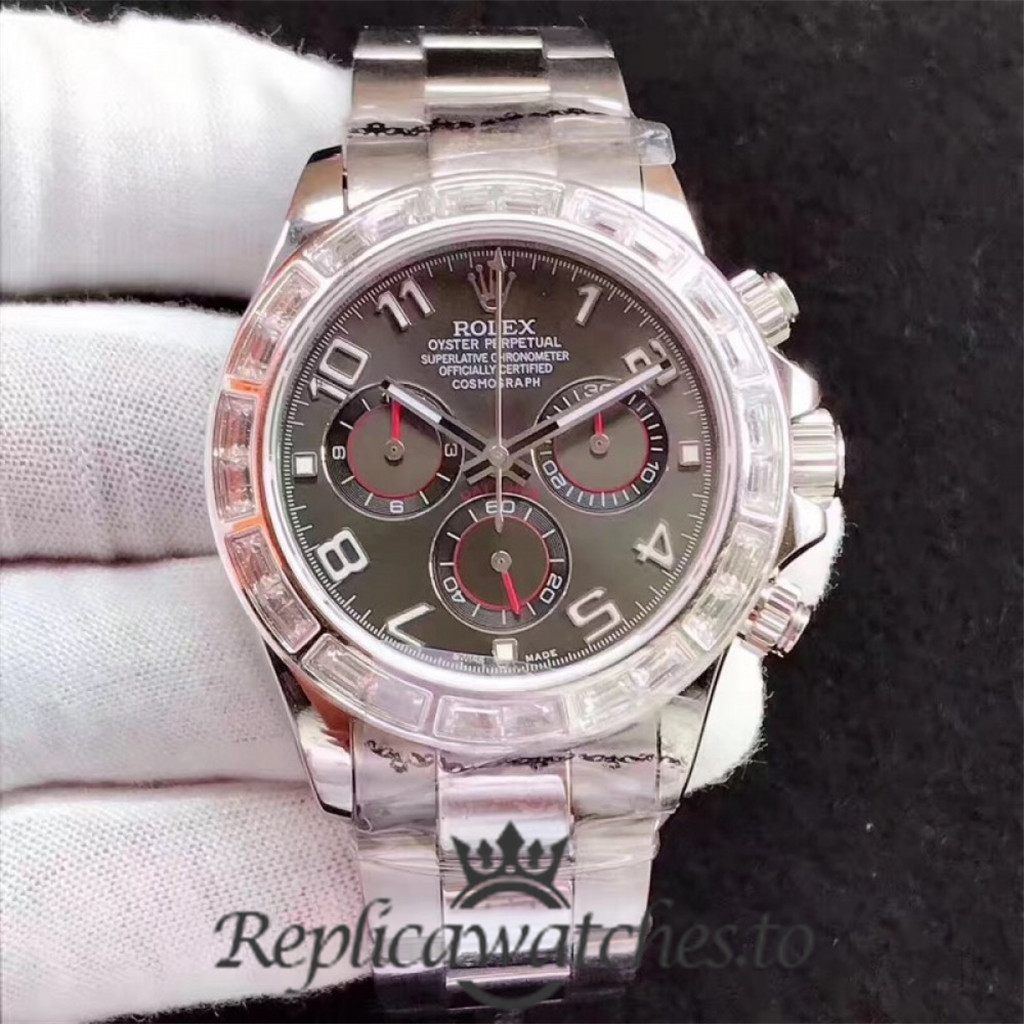 Swiss Rolex Daytona Replica 116599 004 Stainless Steel 410L Automatic 40 mm