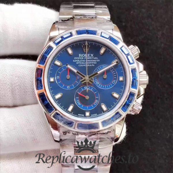 Swiss Rolex Daytona Replica 116599 Stainless Steel 410L Automatic 40 mm