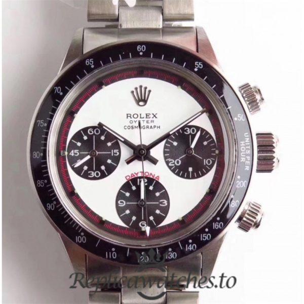 Swiss Rolex Daytona Replica 6241 N 001 Stainless Steel 410L Automatic 37mm