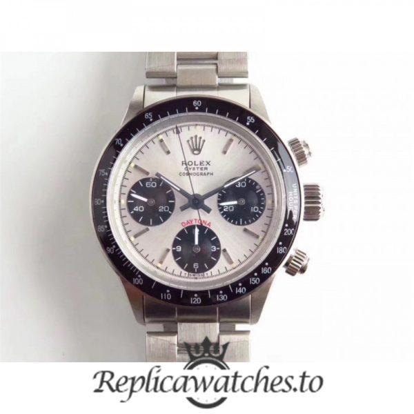 Swiss Rolex Daytona Replica 6241 N Stainless Steel 410L Automatic 37MM