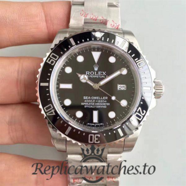 Swiss Rolex Deepsea Sea-Dweller Replica 116600 Stainless Steel 410L Automatic 40mm