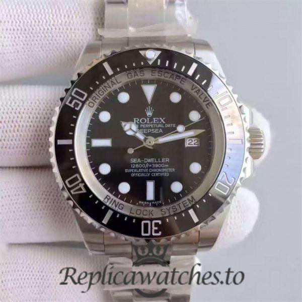 Swiss Rolex Deepsea Sea-Dweller Replica 116660 005 Stainless Steel 410L Automatic 44mm
