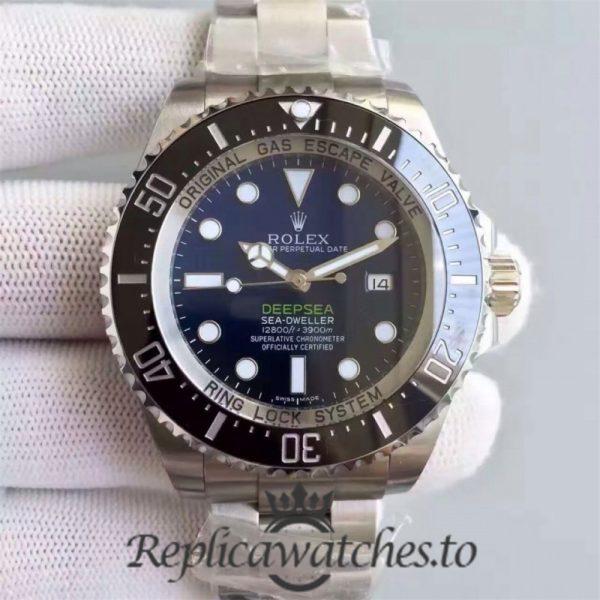 Swiss Rolex Deepsea Sea-Dweller Replica 116660 006 Stainless Steel 410L Automatic 44mm