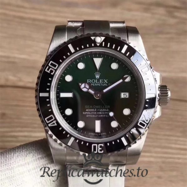 Swiss Rolex Deepsea Sea-Dweller Replica 126600 002 Stainless Steel 410L Automatic 43mm