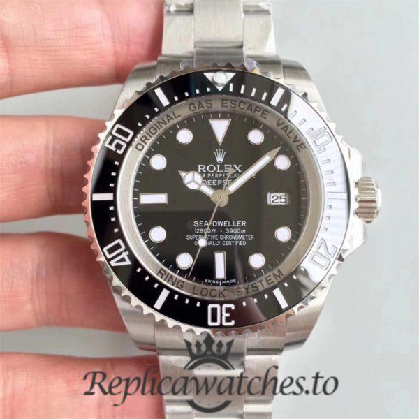 Swiss Rolex Deepsea Sea-Dweller Replica 126600 003 Stainless Steel 410L Automatic 43mm