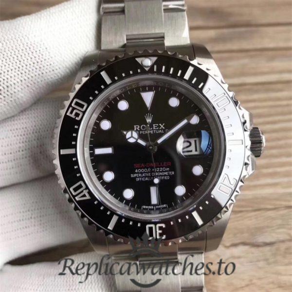 Swiss Rolex Deepsea Sea-Dweller Replica 126600 004 Stainless Steel 410L Automatic 43mm