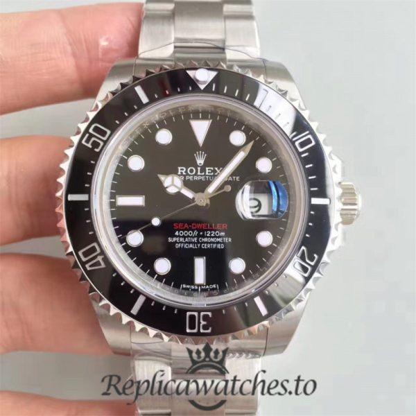 Swiss Rolex Deepsea Sea-Dweller Replica 126600 005 Stainless Steel 410L Automatic 43mm
