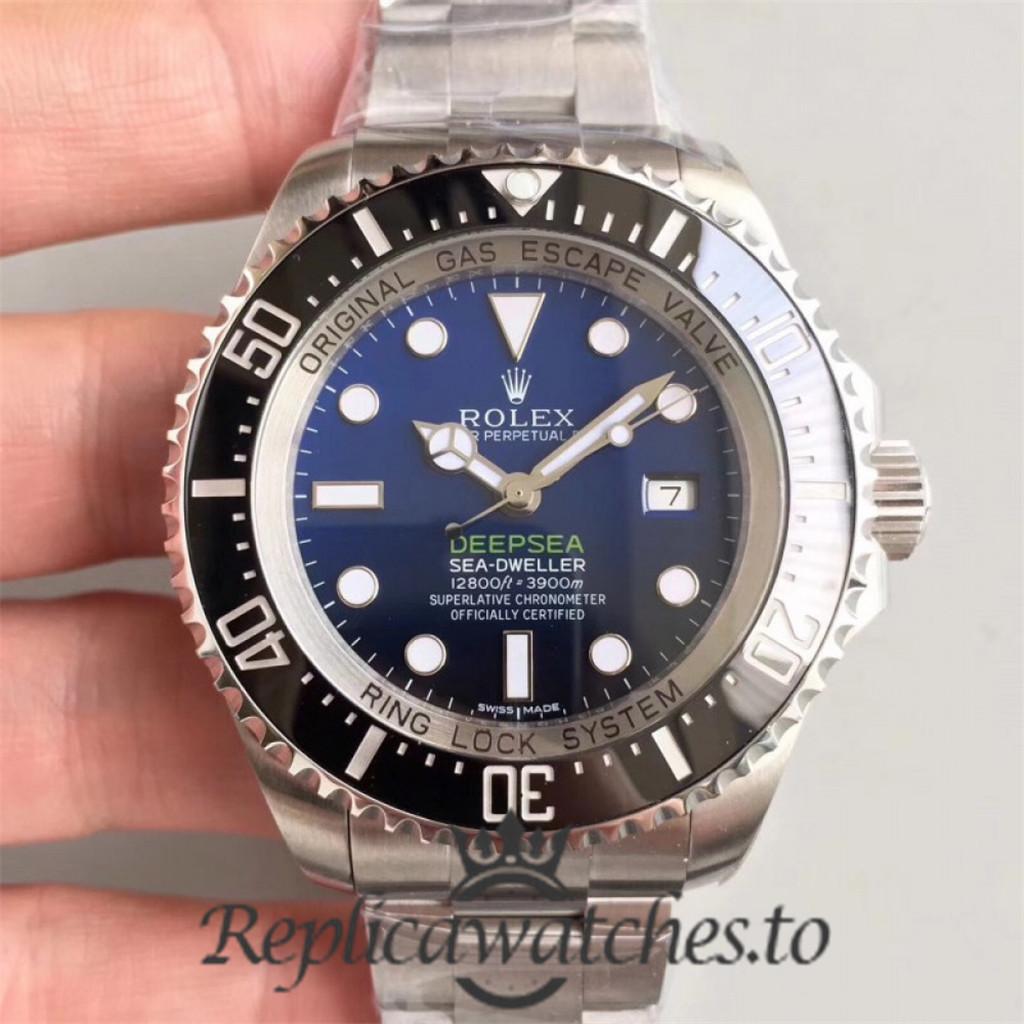 Swiss Rolex Deepsea Sea-Dweller Replica 126660 001 Stainless Steel 904L Automatic 44mm