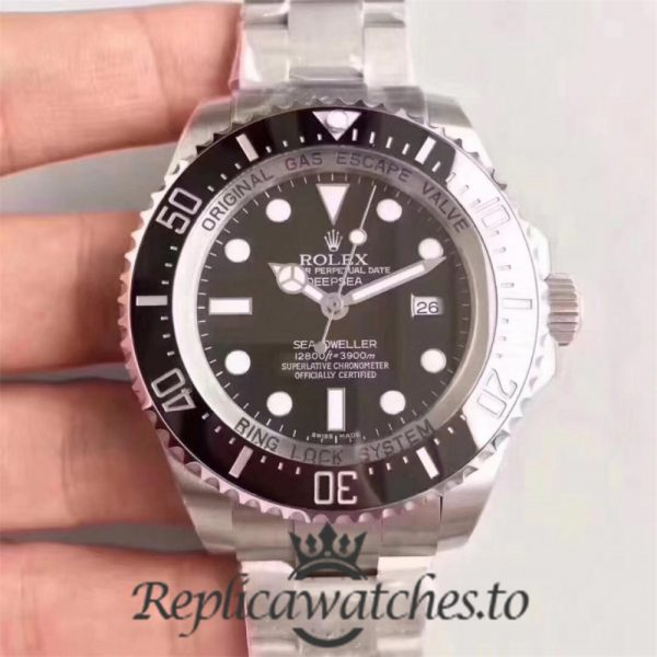 Swiss Rolex Deepsea Sea-Dweller Replica 126660 003 Stainless Steel 904L Automatic 44mm