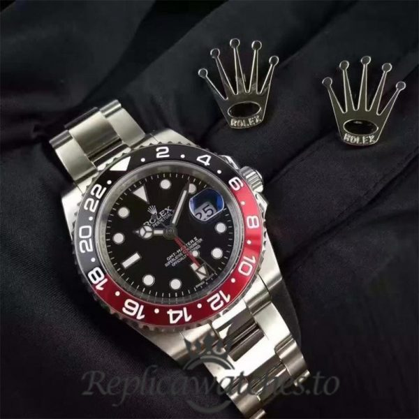 Swiss Rolex GMT-Master Replica 116710BLNR 003 Stainless Steel 410L Automatic 40mm