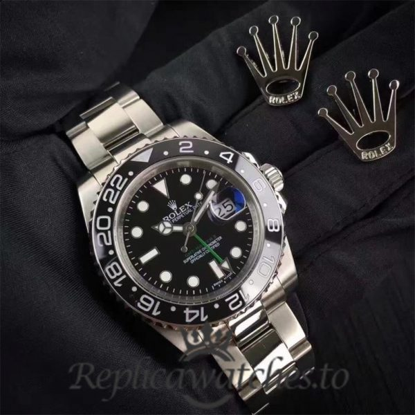 Swiss Rolex GMT-Master Replica 116710LN 002 Stainless Steel 410L Automatic 40mm