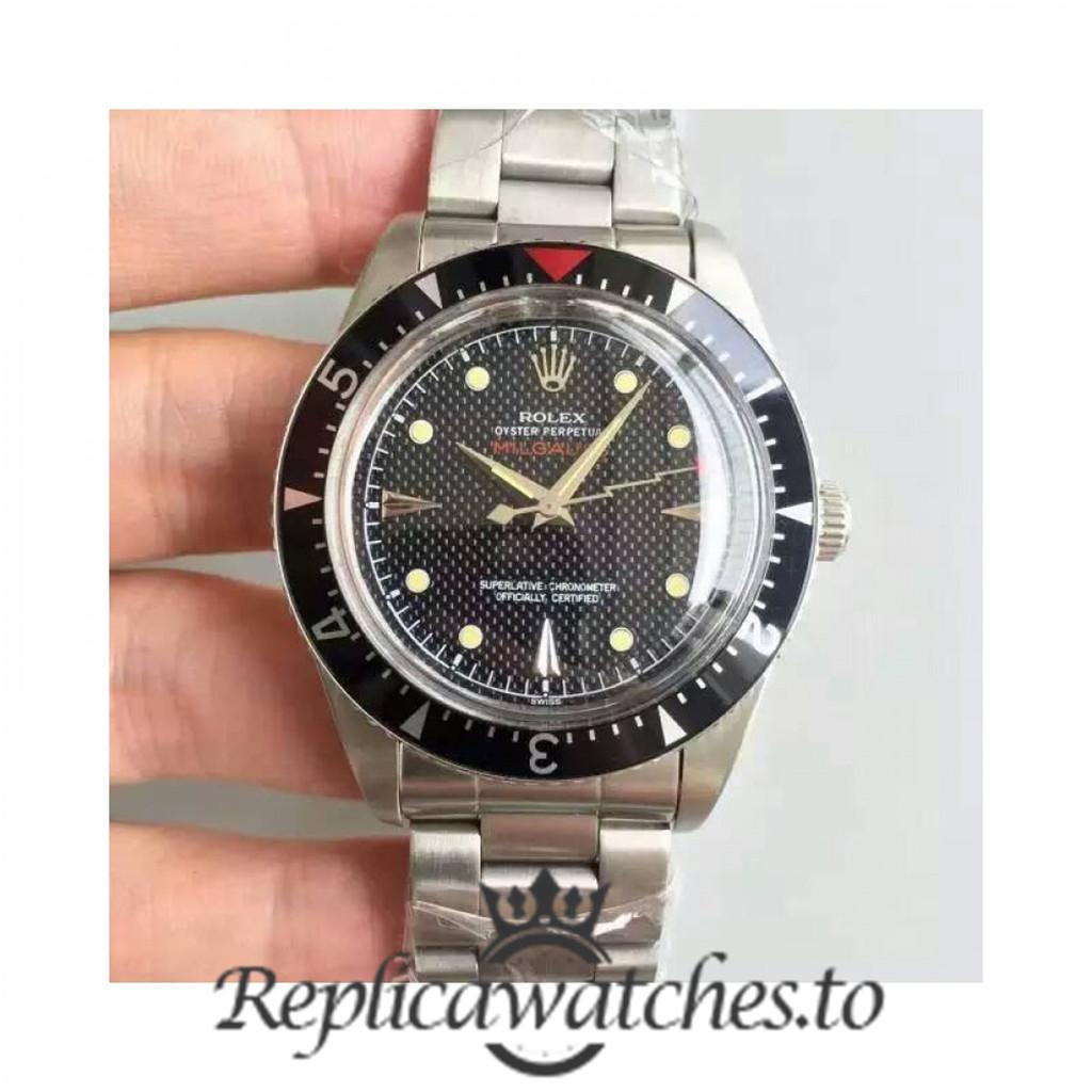 Swiss Rolex Milgauss Replica 6541 Stainless Steel 410L Automatic 38mm